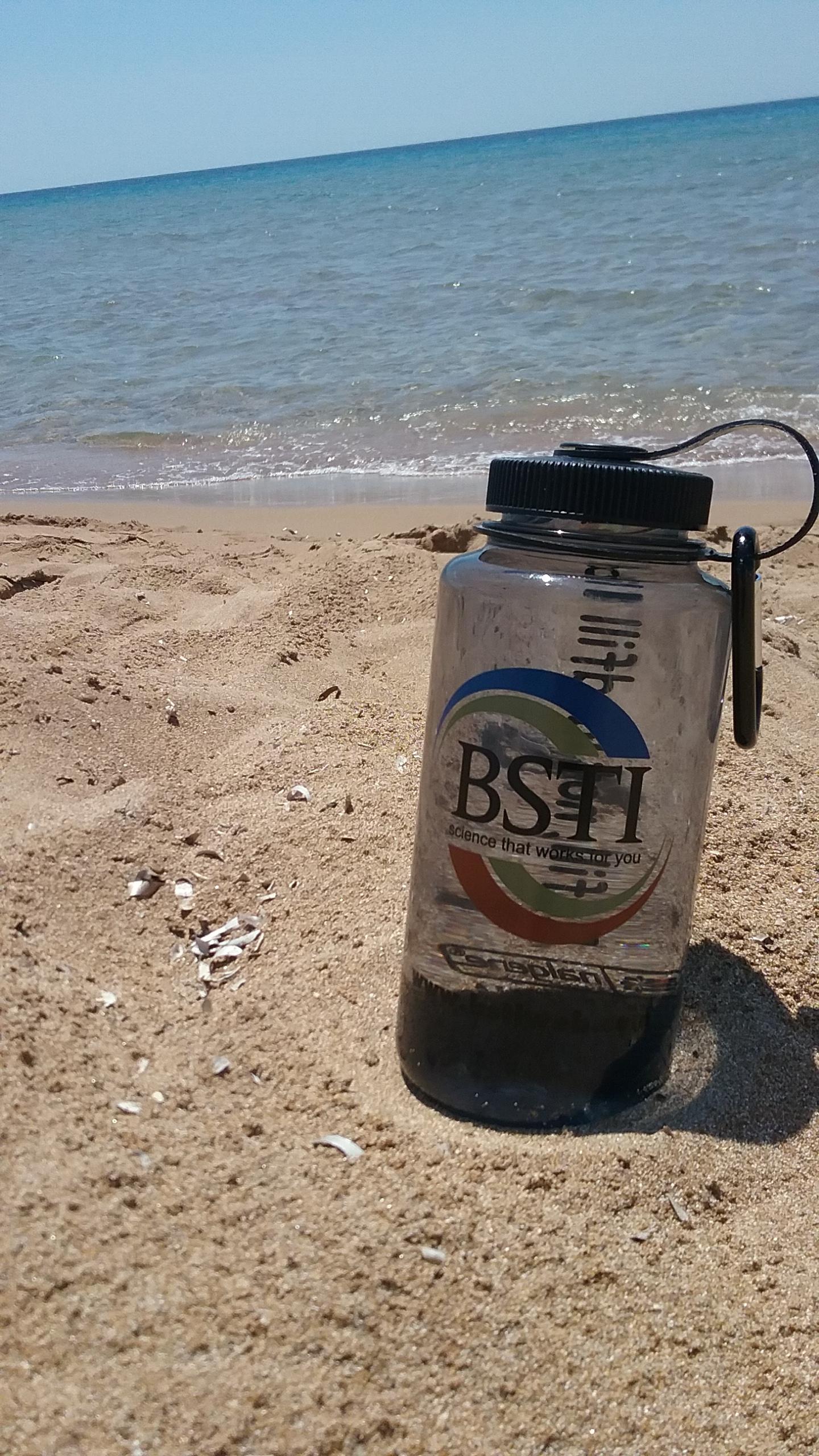 Enjoying the beach in Corfu, Greece