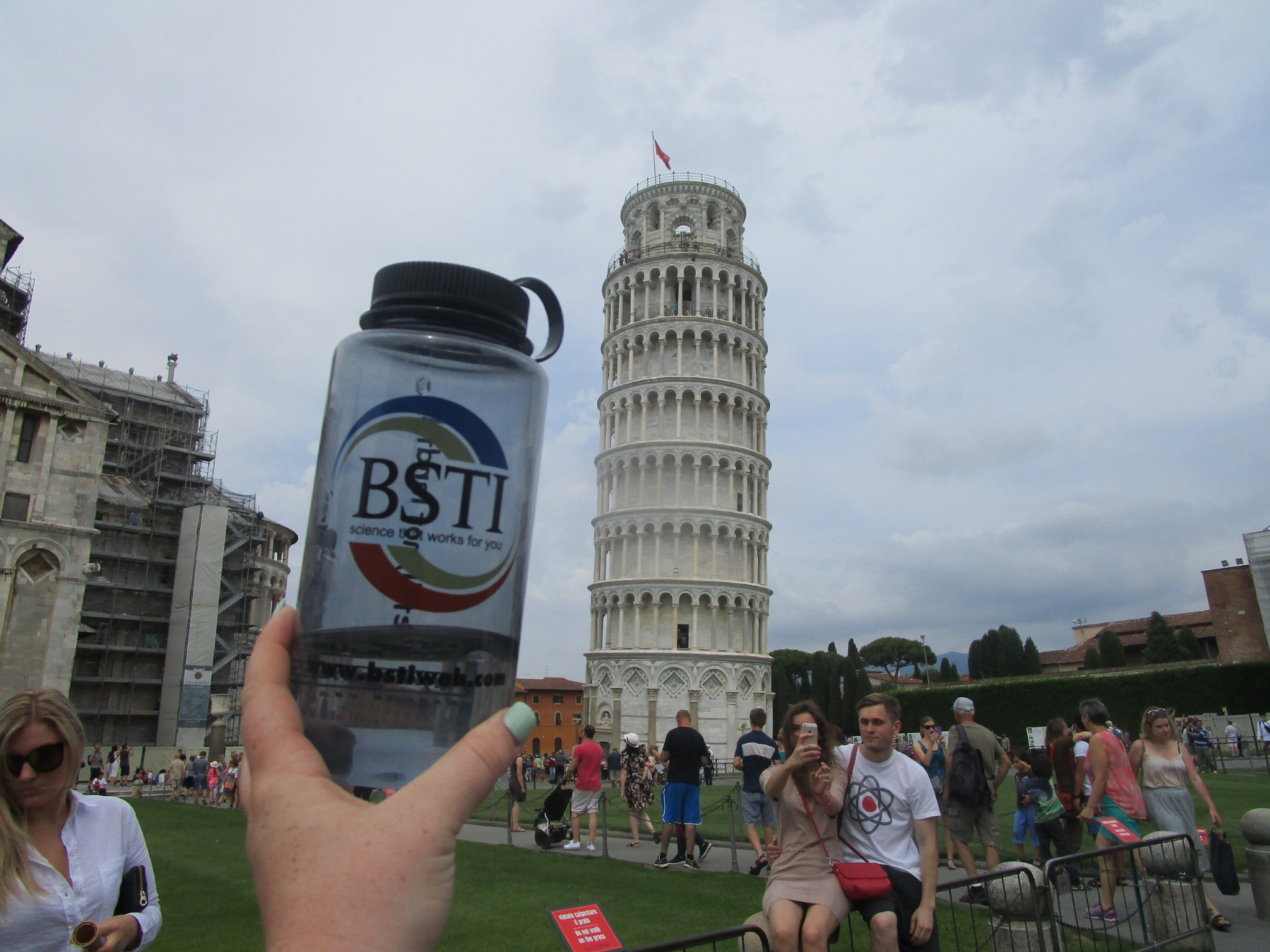 Mimicking the Leaning Tower of Pisa