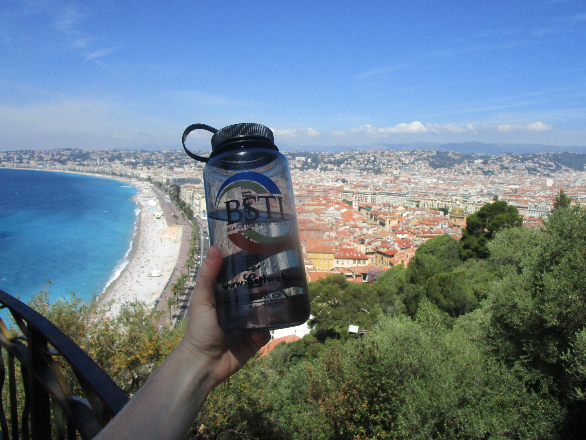 Enjoying a nice view in Nice, France