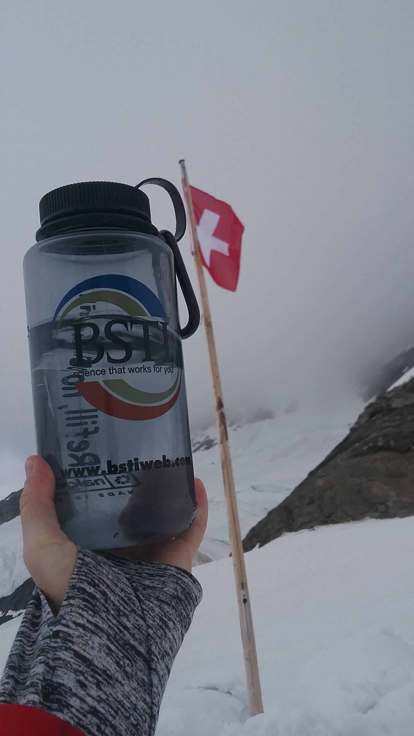 Reaching the Top of Europe in Switzerland