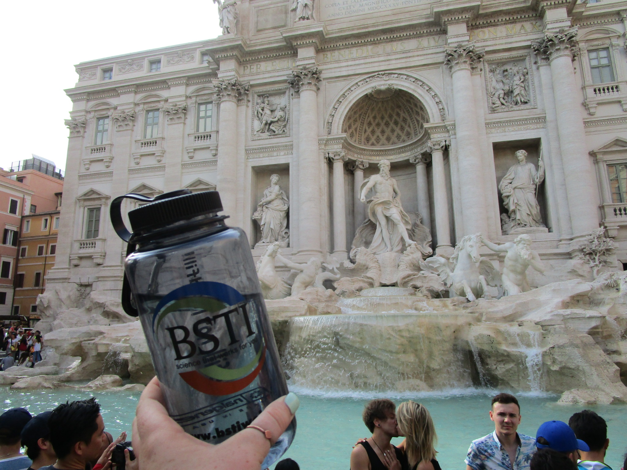Finding love at the Trevi Fountain in Rome, Italy